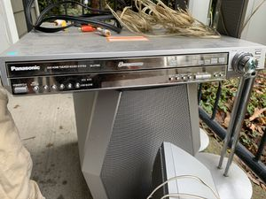 Panasonic home theatre with subwoofer and 5 speakers for Sale in Lake Oswego, OR