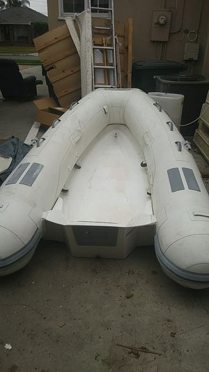 Inflatable boat+ floating dock for Sale in Long Beach, CA