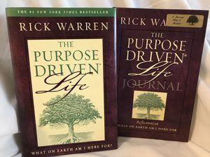 Purpose Driven Life. Rick Warren. Journal. Christian Bible Study. for Sale in Battle Ground, WA