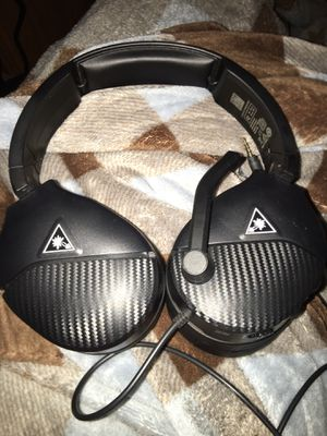 turtle beach headset ps4 Xbox PC recon 200 Only used once Basically New for Sale in Cottage Grove, MN