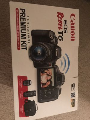 Canon T6 brand new unopened box for Sale in Troy, MI