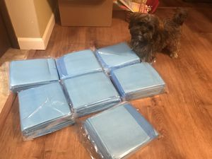 Pee pads for puppies 🐶 for Sale in Seattle, WA
