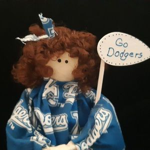 Adorable Little Girl Dodger Rag Doll for Sale in Pismo Beach, CA