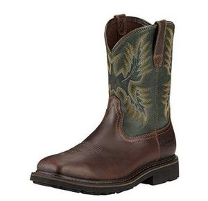 ARIAT NEW MEN Size 9 Wide - Wide Square Steel Toe Work Boot for Sale in San Jose, CA