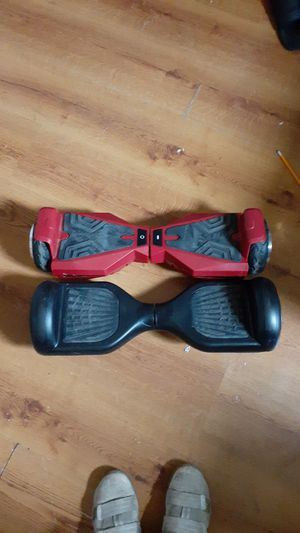 2 hoverboards chargers not included for Sale in CANAL WNCHSTR, OH