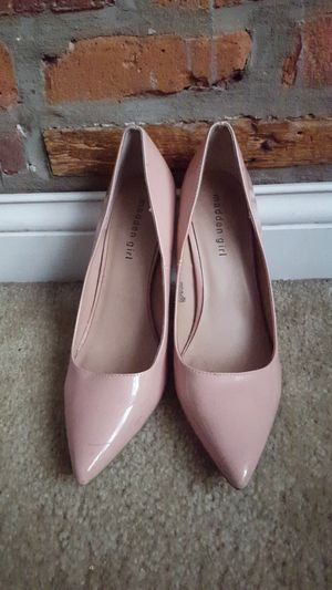 Patent leather nude size 9 heels for Sale in Columbus, OH