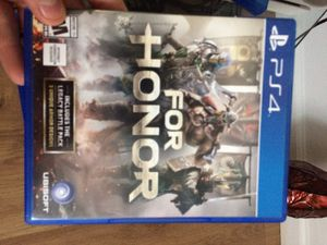 PS4 for honor for Sale in Pittsburgh, PA