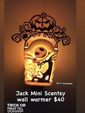 Jack Skellington Mini Scentsy Warmer for Sale in Long Beach, CA