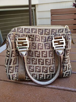Fendi monogram and studs canvas and leather mini bag for Sale in Redondo Beach, CA