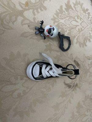 Converse Mini Shoe and FNAF2 Marionette keychains! for Sale in Ashburn, VA