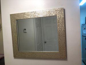 Gold wall mirror for Sale in Miami Gardens, FL