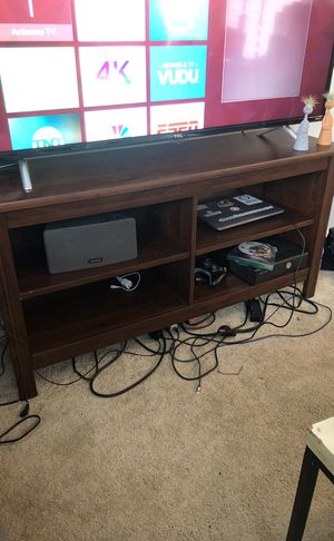 Brown tv stand for Sale in Seattle, WA