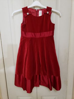 Gymboree Holiday PAGEANT party Dress Deep Red 8 for Sale in Newport News, VA