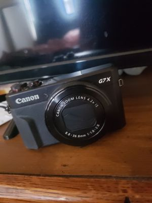 Canon PowerShot G7 Mark II for Sale in Saint Paul, MN