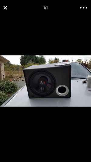 Power bass subwoofer for Sale in Snohomish, WA