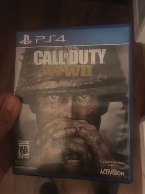 Call of duty World at war 2 for Sale in Modesto, CA