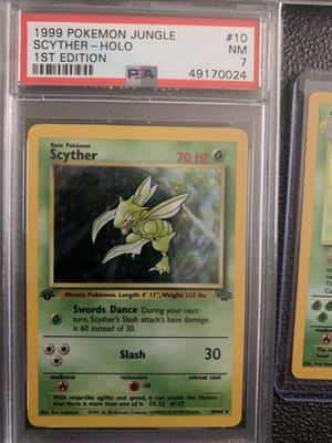 Holo scyther 1st edition for Sale in Cary, NC