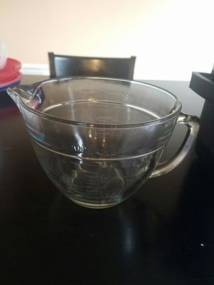 Large glass mixing bowl for Sale in Springfield, VA