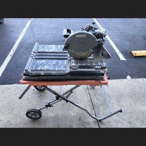 Rigid Tile Wet Saw R4092 for Sale in Manassas, VA