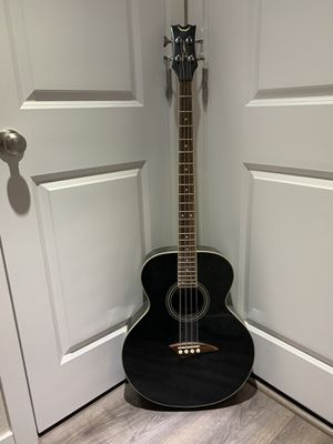 Dean acoustic/electric bass guitar for Sale in Portland, OR