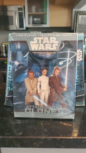 Star Wars Attack of the Clones Trading Card Game x 8 for Sale in Miami, FL