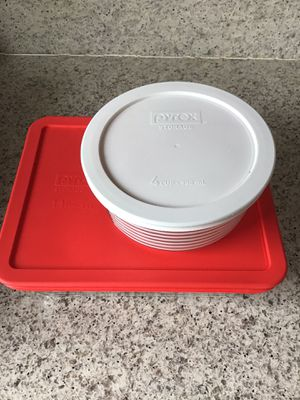 PYREX Brand Set of 2 Tupperware for Sale in Washington, DC