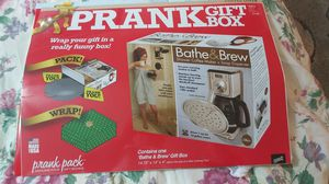 PRANK gift box. Real gift inside lol for Sale in Wantagh, NY