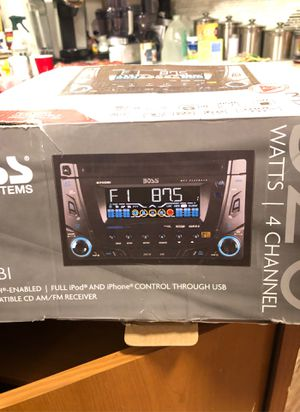 Boss stereo for Sale in Puyallup, WA
