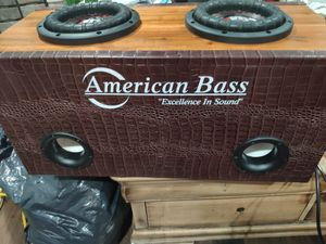 $550 UPDATE BOX INCLUDED American bass &CT sounds monoblock amp for Sale in Denver, CO