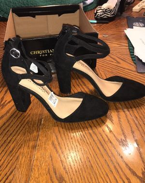 SZ 5 Black 3in Block Heels - NIB for Sale in Rossville, GA