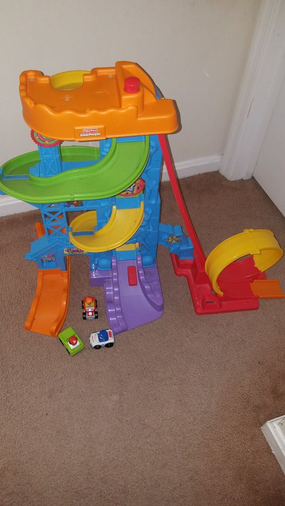 Fisher price track