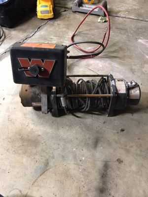 Warn winch mx8000 for Sale in Cornelius, OR