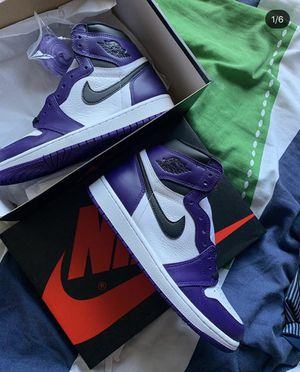 Air jordan 1 high court purple for Sale in Newport Beach, CA