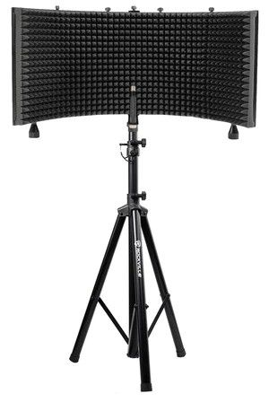 Pro Audio  Rockville Recording Studio Microphone+Isolation Shield+Headphones+Tripod Stand for Sale in Lafayette, LA