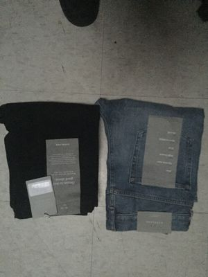 Everlane jeans for men size 30-32 both black and blue for Sale in Philadelphia, PA