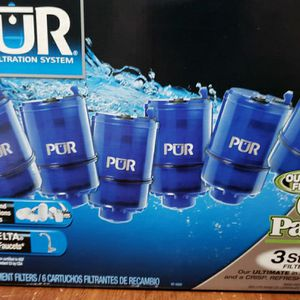New PUR 3 Stage Water Filters 6 Pack for Sale in Miramar Beach, FL