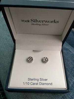 Beautiful Diamond earrings for Sale in Ashland City, TN
