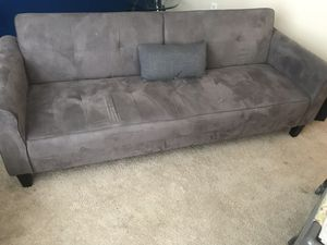 Gray Futon for Sale in Newport News, VA