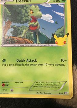 Treecko Pokémon Card for Sale in Fort Worth,  TX