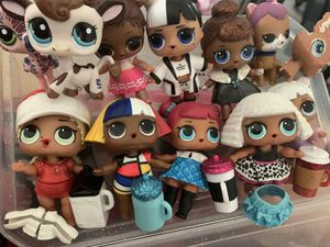 LOL Dolls $7 each or $60 for all for Sale in Vacaville, CA