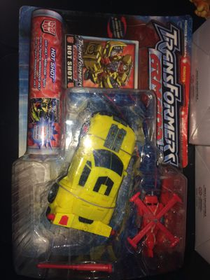 Transformers armada hot shot vehicle to robot robots in disguise for Sale in Leavenworth, KS