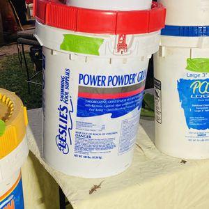 Leslies power powder granular 70 shock chlorine granules for Sale in Plano, TX
