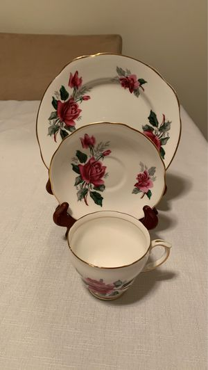Duchess bone China cup & saucer with sandwich plate for Sale in Pasco, WA