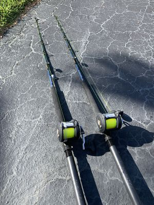 Fishing rods and reels for Sale in Plantation, FL