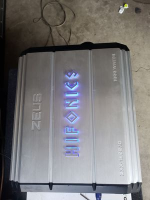 Hifonics amp for Sale in Los Angeles, CA