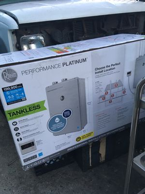 Rheem Platinum Tankless Water Heater for Sale in Alameda, CA