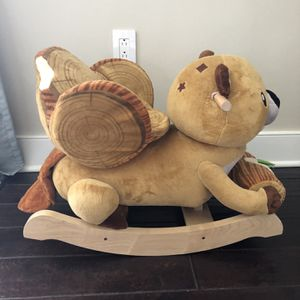 Plush Rocking Toy for Sale in Morrisville, PA