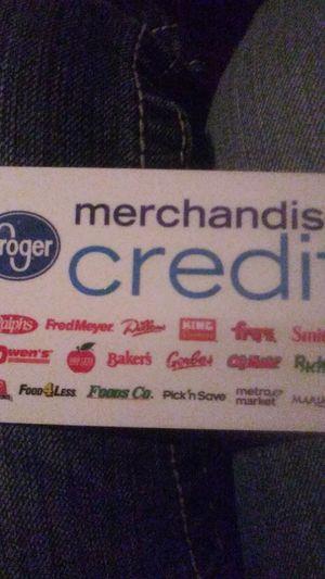 Kroger card(fred meyer, qfc) for Sale in Ellensburg, WA