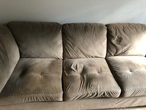 Half of a sectional couch for Sale in Woodway, WA