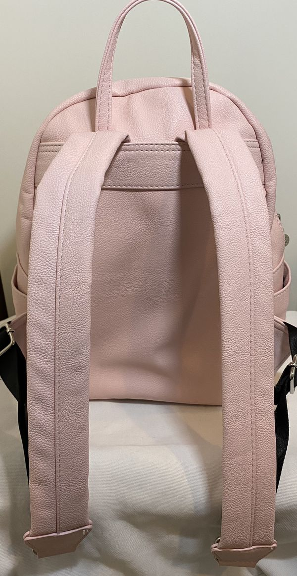 Betsey Johnson Pink Studded Backpack